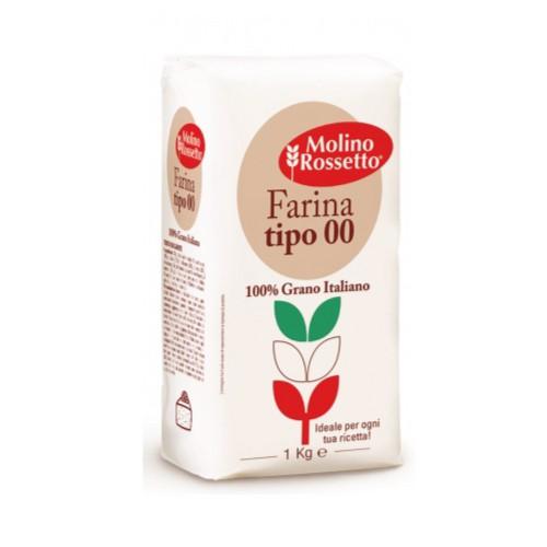"""Molino Rossetto meel van harde tarwe """"00"""" superieur voor pasta"""