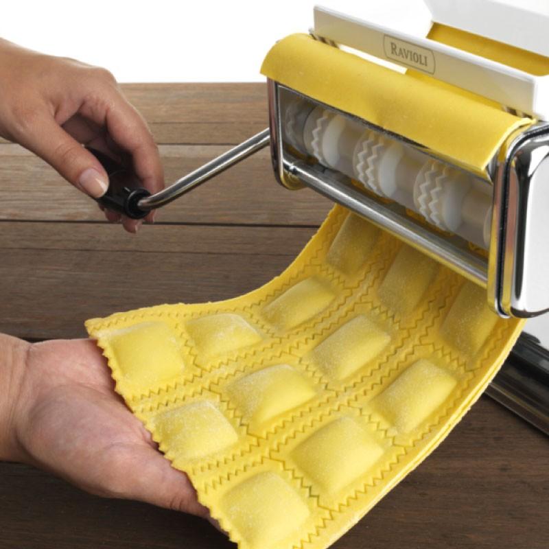 ravioli maken met pastamachine